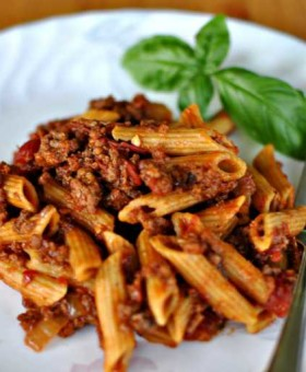 slow cooker spicy spaghetti