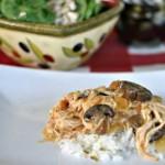 Crock pot Chicken & Mushrooms