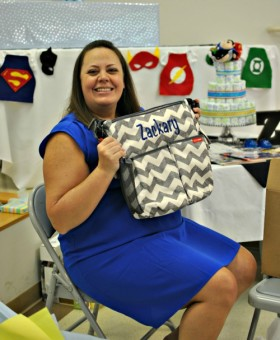 Super hero baby shower