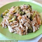 Slow Cooker Italian Pork and Broccoli