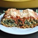Beef Spinach Lasagna Roll-Ups