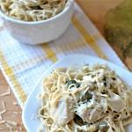 Skinny Chicken Piccata Pasta