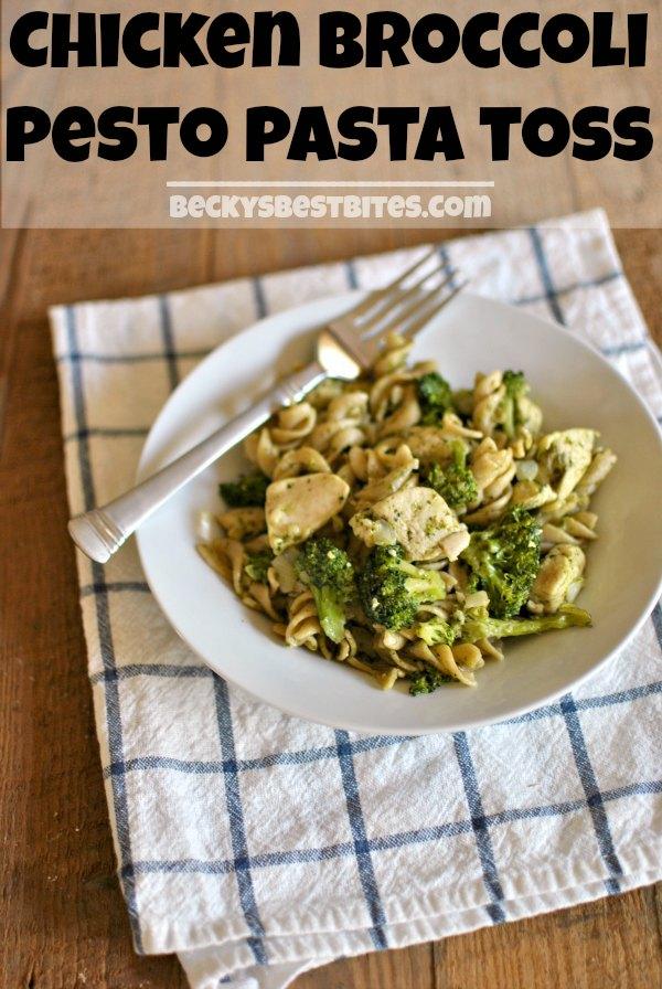 recipe: low calorie pesto pasta [18]