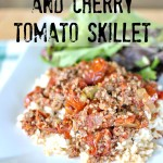 Chipotle Beef and Cherry Tomato Skillet