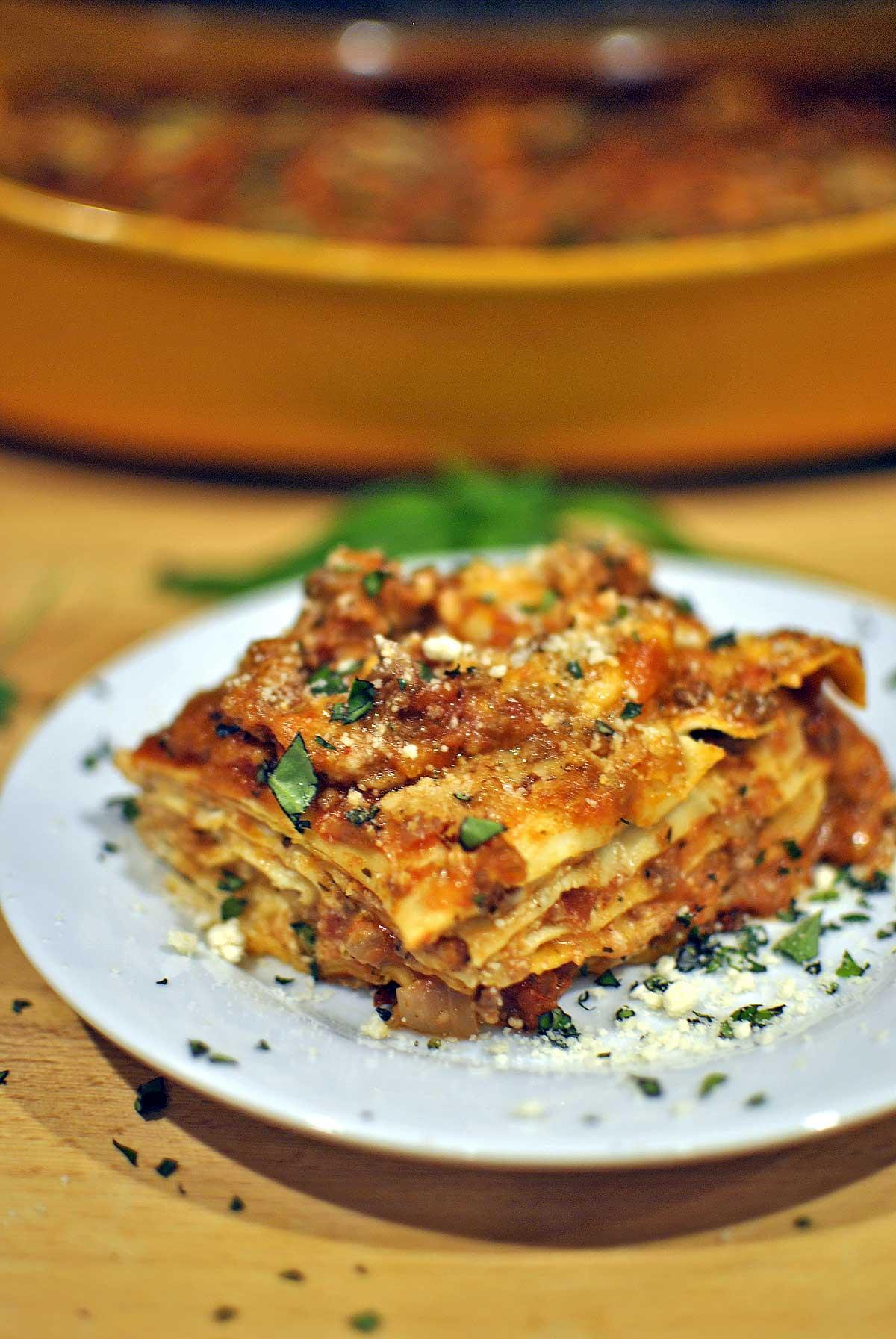5 Layer Spicy Oven Ready Lasagna Recipe