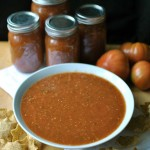 Homemade Roasted Tomato Salsa