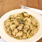 Weeknight Chicken Divan with Rice