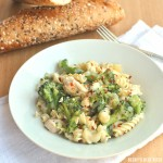 Guiltless Chicken Alfredo with Broccoli