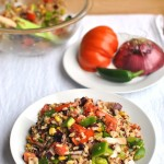 Southwest Summer Fresh Grain Salad