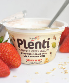 Who's hungry? I just discovered an amazing new type of yogurt that's delicious AND satisfying! I'm getting Wedding-Ready with Yoplait Plenti Greek Yogurt! #sp #LandofPlenti