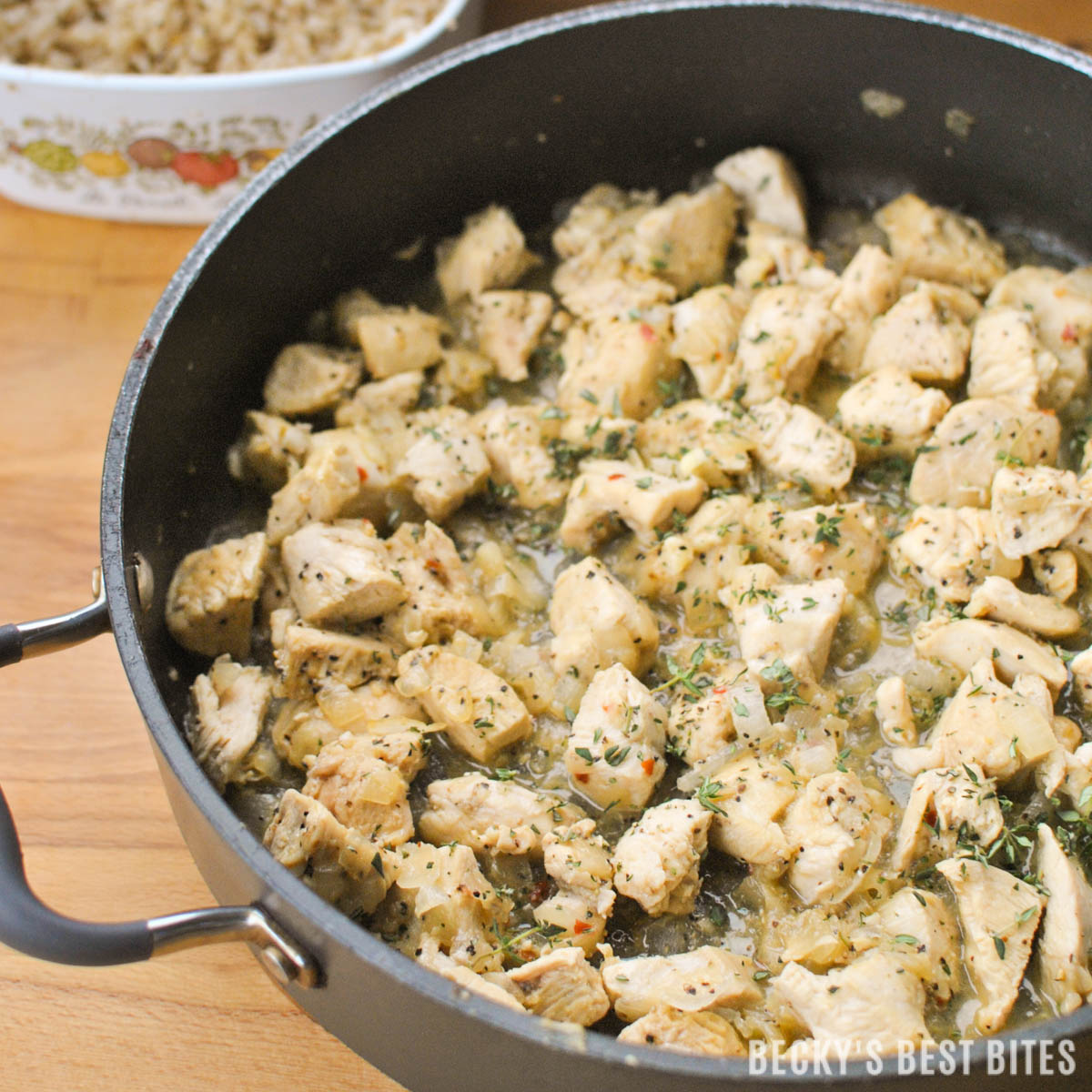 Super simple skillet lemon pepper chicken forumfinder Gallery