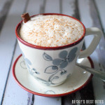 Healthy Holiday Chai Tea Latte