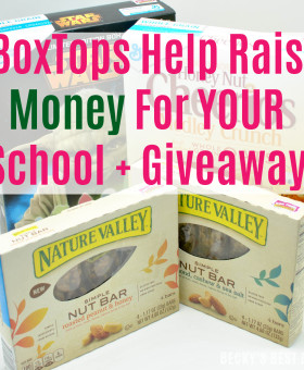 Learn the easy way eBoxTops Help Raise Money For Your School and a $15 PayPal Cash Giveaway. Contest alert sweepstakes entry sweeps giveaways | beckysbestbites.com
