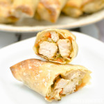 Pork and Vegetable Baked Egg Rolls