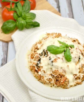 Slow Cooker Chicken Caprese