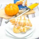 Creamy Baked Pumpkin Pie Empanadas