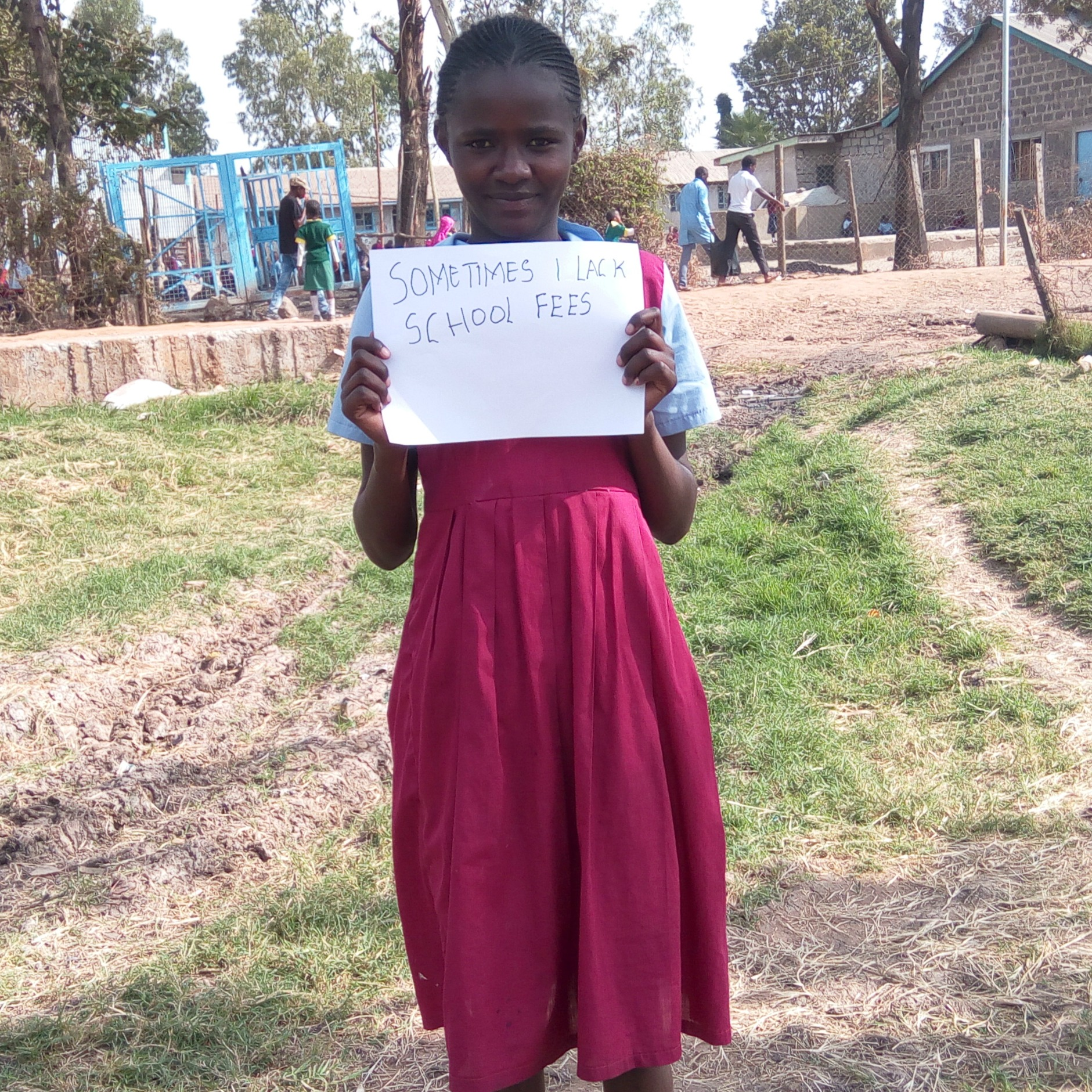 Simply Said...It Is Time to CARE! Let's break the barriers of poverty and education around the world with CARE! I invite you to join me by sending letters of hope to inspire students to follow their dreams!   beckysbestbites.com #simplysaid #ad
