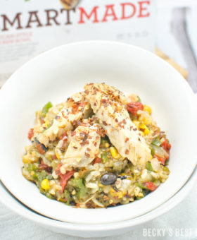 #ad Meals Inspired by You! NEW SmartMade by Smart Ones® offer smart and delicious meals inspired by your smart cooking methods -like grilling protein and roasting vegetables for more flavor, and making smart swaps like white bean puree for cream – just like you do at home. #inspiredbyou #smartmade | www.beckysbestbites.com