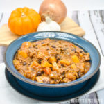 Butternut Squash, Black Bean and Beef Chili