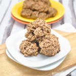 Peanut Butter Chocolate Protein Breakfast Cookies