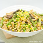 Sweet Corn and Spring Vegetable Pasta
