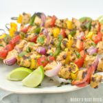 Chipotle Lime Turkey Kabobs