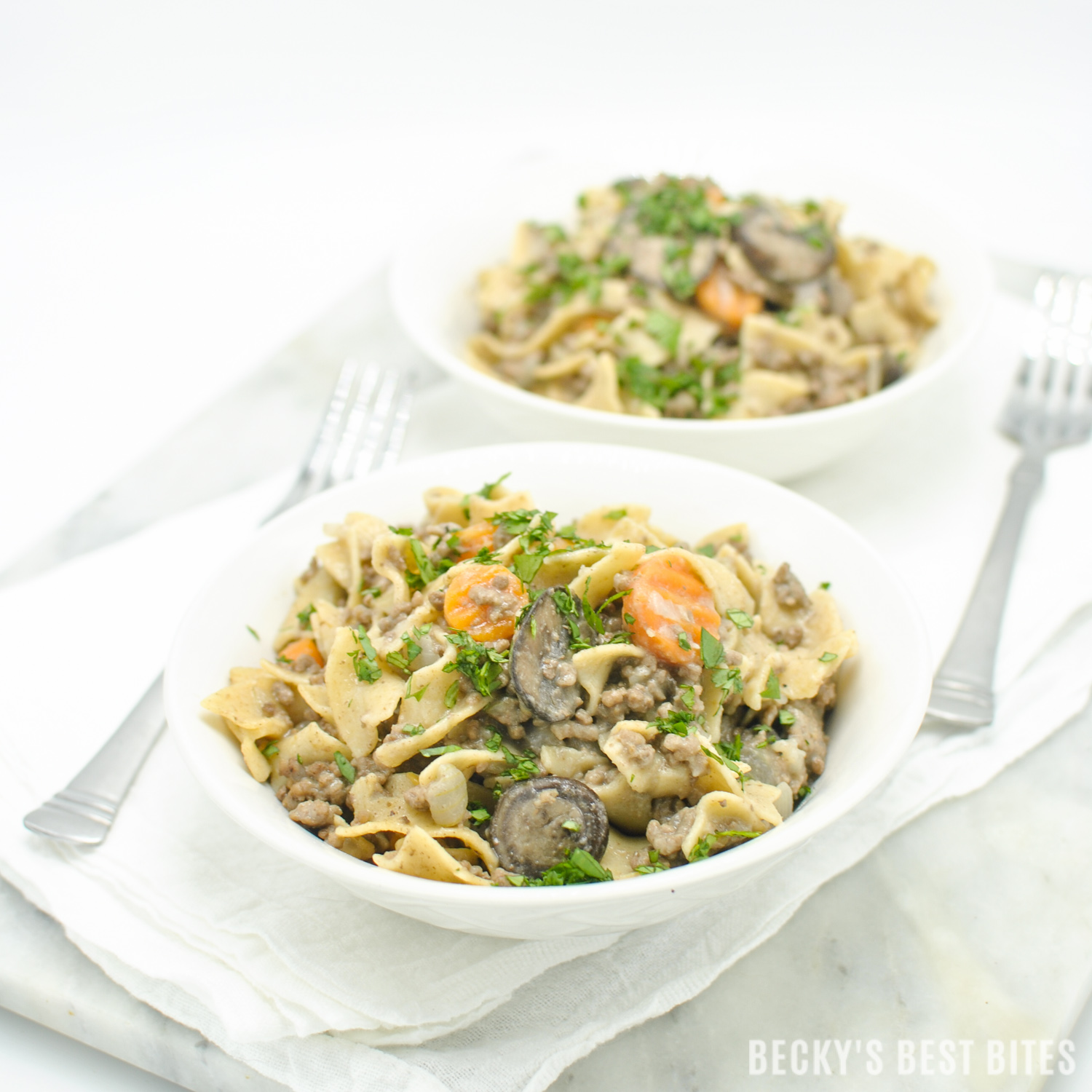 Lean Ground Beef Stroganoff Becky S Best Bites Healthy Recipe