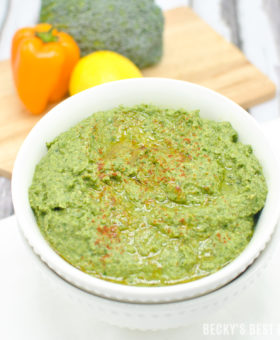 Green Goddess Spinach Hummus