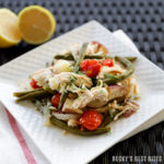 Slow Cooker Greek Chicken with Potatoes and Green Beans