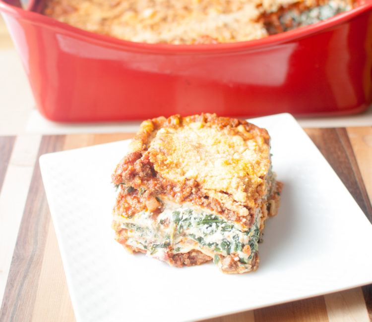 Meat & Veggie Lovers Family Lasagna