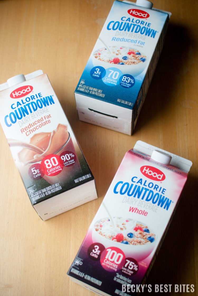 Introducing Hood Calorie Countdown - a creamy and delicious dairy beverage with many nutritional benefits. Perfect for anyone wanting to incorporate dairy into a healthier lifestyle. | beckysbestbites.com